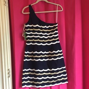 NWT One shoulder Lilly Pulitzer Tylar dress